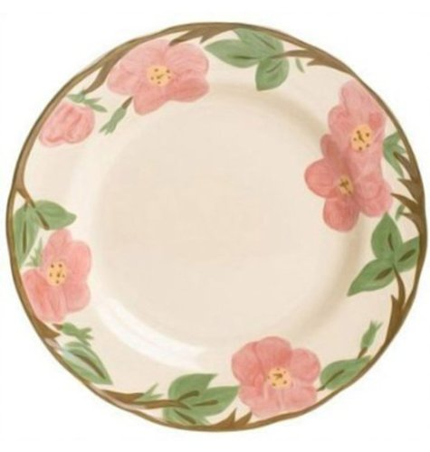 Wedgwood 5-26001-1001 Franciscan Desert Rose Dinnerware Collection, Bread & Butter Plate 6 in.