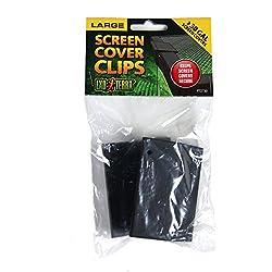 Exo Terra PT2730 Terrarium Cover Clip Set, Large