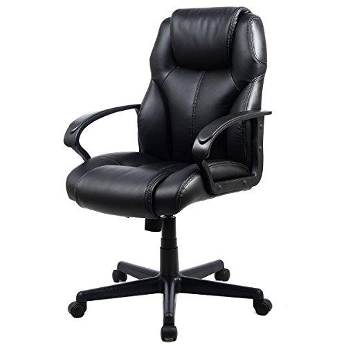 Giantex Leather Ergonomic Executive Computer