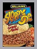 Williams Sloppy Joe Seasoning - 12 Pack