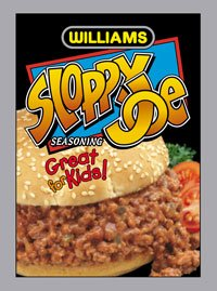 Williams Sloppy Joe Seasoning - 12 Pack