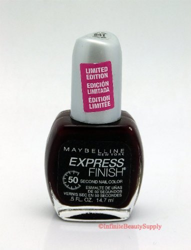 (Maybelline Express Finish Polish #641 Devine Wine (LIMITED EDITION))