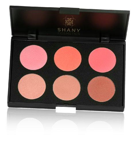 SHANY Cosmétiques Fuchsia 6 Color Palette Blush, 8 oz