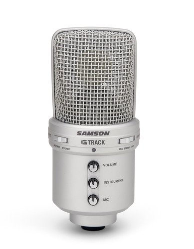 (Samson G-Track USB Condenser Microphone with Audio Interface)
