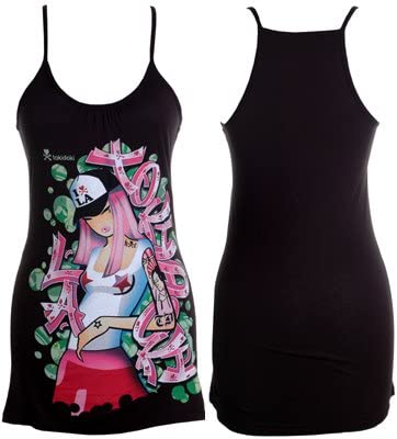 Chica Tank Rich Black Girls Tank Top Shirt I Love LA Tokidoki