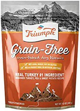 TRIUMPH GRAIN FREE OVEN BAKED DOG BISCUITS 12 oz