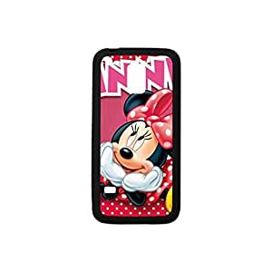Samsung Galaxy S5 mini Case,Powerful Protection [Multicolor Color Mix Design] (Black and White),Lovely Mickey mouses Pattern Hybrid Hard Soft Durable Plastic and TPU Case Armor Case Back Cover Case for Samsung Galaxy S5