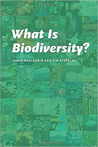 Amazon com: What Is Biodiversity? (0000226500810): James Maclaurin