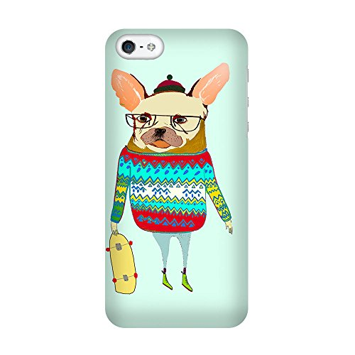 iPhone 5C Coque photo - Patinage Doggy