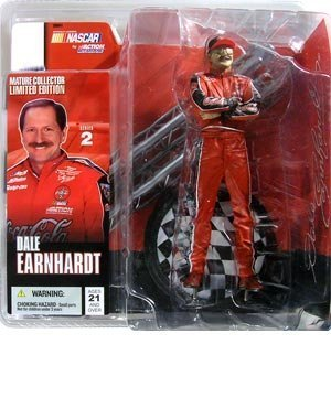 (McFarlane Nascar Series 2 Dale Earnhardt (No Glasses) Sr. Figure)