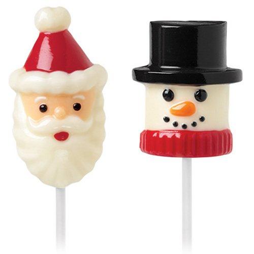 Wilton 2115-1798 Marshmallow Candy Mold, Snowman and (Marshmallow Snowman Craft)
