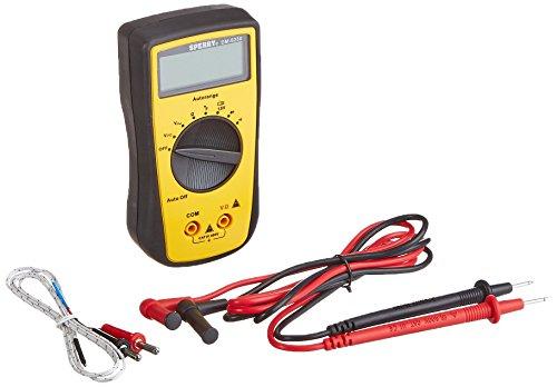 Price comparison product image Sperry Instruments DM6250 Digital Multimeter, 7 Function AC/DC V, Resistance, Continuity, 19 Auto Range