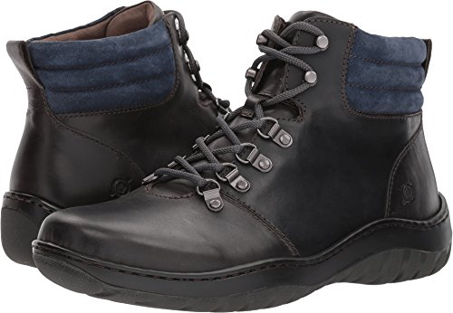 Born  Men's Dutchman Boot Dark Grey/Blue 13 M (Born Mens Boots)