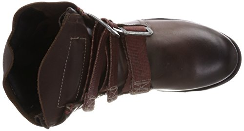 Marrone FLY Donna Dk Brown 012 Stif Motociclista da Stivali London SRTPqRY