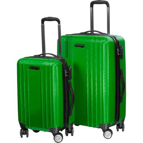 eBags EXO Hardside Spinner 2pc Set (Green), Bags Central