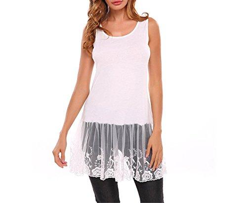 Con Impresión Mujer Otoño Auspiciousi Redondo Blusa De Cuello Vintage Blusas Floral Floreciente White aYzBwqE