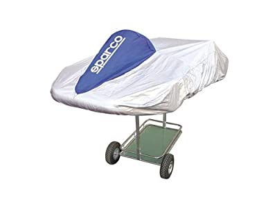 Sparco 02712A Kart Cover Silver/Blue