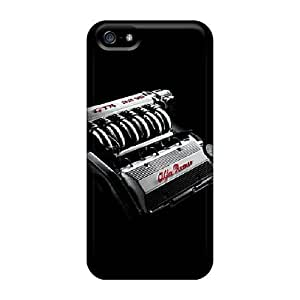 New Fashionable Living Project Cover Case Specially Made For Iphone 5/5s(alfa Gta 32 V6)