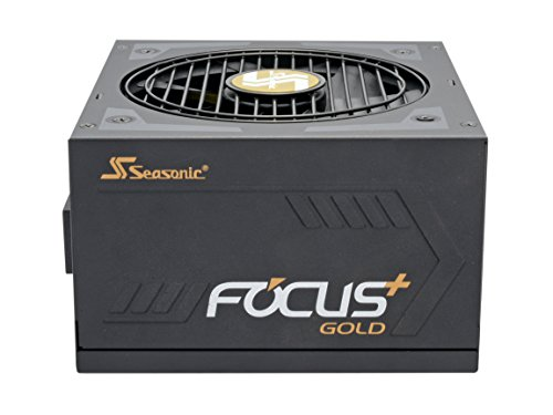Seasonic FOCUS Plus Series SSR-850FX 850W 80+ Gold ATX12V & EPS12V Full Modular 120mm FDB Fan Compact 140 mm Size Power Supply by Seasonic (Image #2)
