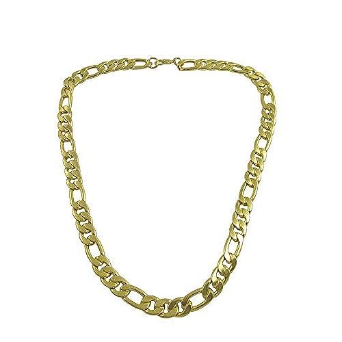 9179bbfb2ae9 Chic D   D chapado en oro Vintage Collection enlace cadena de cuello para  hombres