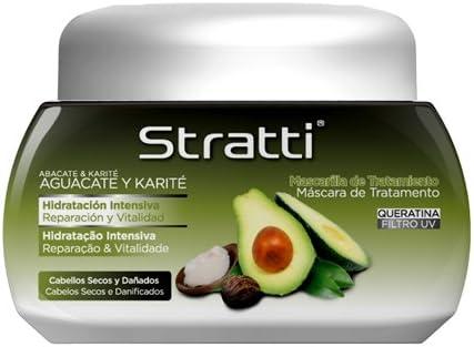 Stratti Aguacate - Mascarilla Reparación y Vitalidad con Keratina - 550 gr