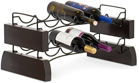 BIRDROCK HOME Stackable Wine Rack