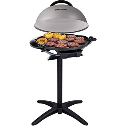 George Foreman 15-Serving Indoor/Outdoor Grill, GFO240S - Gray
