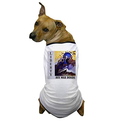 CafePress - Liberty Buy War Bonds - Dog T-Shirt, Pet Clothing, Funny Dog Costume