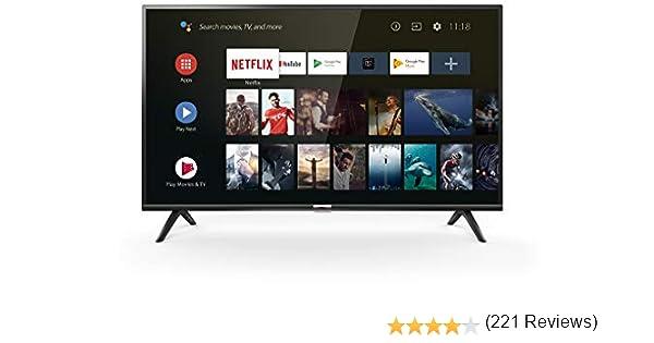 TCL 40ES560 Smart TV de 40 Pulgadas con Full HD, HDMI, USB, WiFi y ...