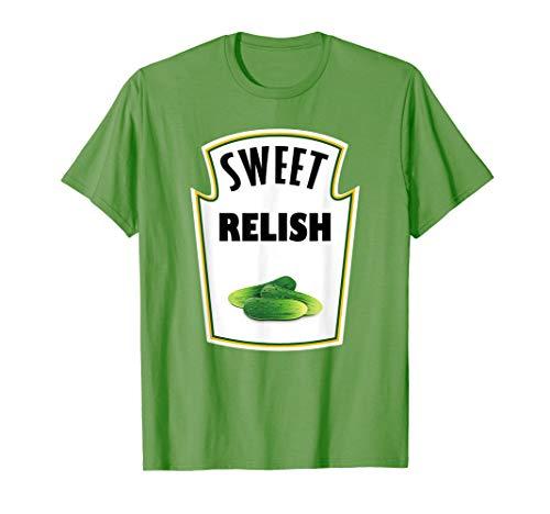Halloween Costume Relish T-Shirt Group Ketchup