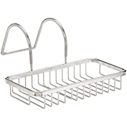 Taymor (02-D1087) Chrome Soap and Sponge Bathtub Caddy