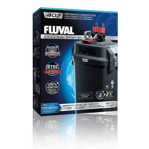 Fluval 407 Perfomance Canister Filter