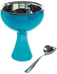 Purchase Alessi Big Love Bowl+Spoon, Blue deliver