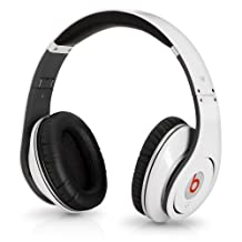 Beats by Dr. Dre Studio High-Definition Headphones (White)