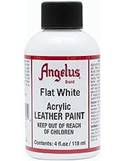 Angelus Leather Paint 4 Oz Flat White