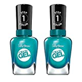 Sally Hansen Miracle Gel Nail Polish, Shade Combustealble 729 (Pack of 2) (Packaging May Vary)