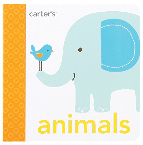 """Carter's BBB1-11253 Learn About Animals Board Book for Toddlers and Babies, 4.8"""" x 4.6"""""""