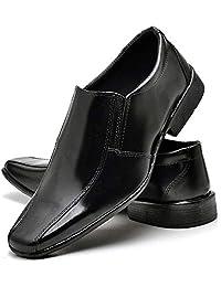 Sapato Social Verniz Masculino Top Flex R800DB