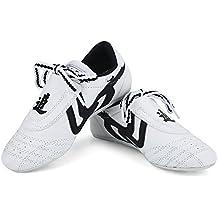 Martial Arts Taekwondo Shoes,Unisex Children Teenager Sport Boxing Karate Shoes for Taekwondo, Boxing, Kung Fu and TaiChi