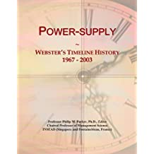 Power-supply: Webster's Timeline History, 1967 - 2003