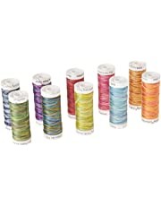 Sulky 712-31 Westport Collection Crossroads Cotton Petites 12 Weight (10 Pack), Multicolor