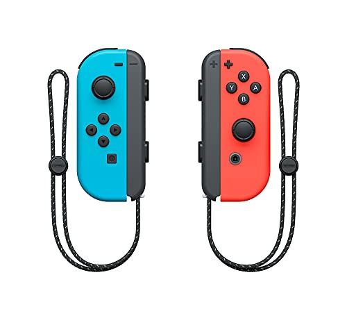 Nintendo Switch – OLED Model w/ Neon Red & Neon Blue Joy-Con