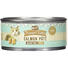 Merrick Purrfect Bistro Grain Free Salmon Pate Canned Cat Food, 5.5 oz., Case of 24