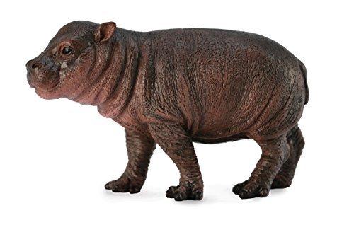 Collect A Wild Life Pygmy Hippopotamus Calf Toy Figure by Collecta