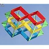 VIPASNAM-NEW 47-In power box 3D kite/single line Outdoor fun Sports stunt kites Toys