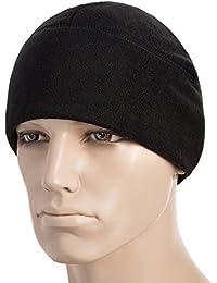 "<span class=""a-offscreen"">[Sponsored]</span>Winter Hat Windproof Fleece 380 Mens Watch Cap Military Skull Cap Beanie"