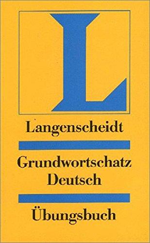 Langenscheidt Grundwortschatz Deutsch Pdf