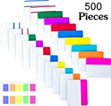500 Pieces Tabs 2 Inch Sticky Index