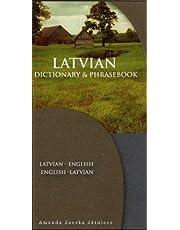 Latvian-English/English-Latvian Dictionary & Phrasebook