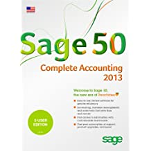 Sage 50 Complete Accounting (Sage Peachtree) 2013 US Edition 3-Users [Old Version]